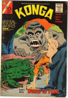 Konga #17  comic book very good 4.0