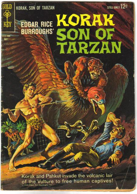 Korak Son of Tarzan  #3 comic book very good 4.0