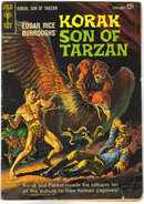 Korak Son of Tarzan  #3 comic book very good 4.0