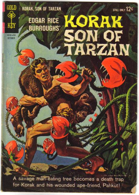 Korak Son of Tarzan #5 comic book very good/fine 5.0