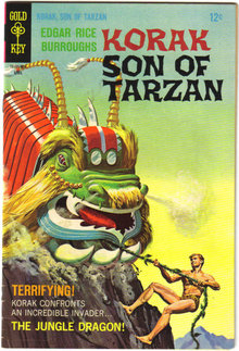Korak Son of Tarzan #22 comic book very fine 8.0