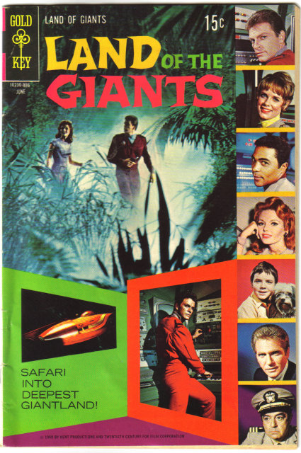 Land of the Giants #4 comic book very good/fine 5.0