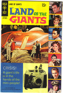 Land of the Giants #5 comic book very good/fine 5.0