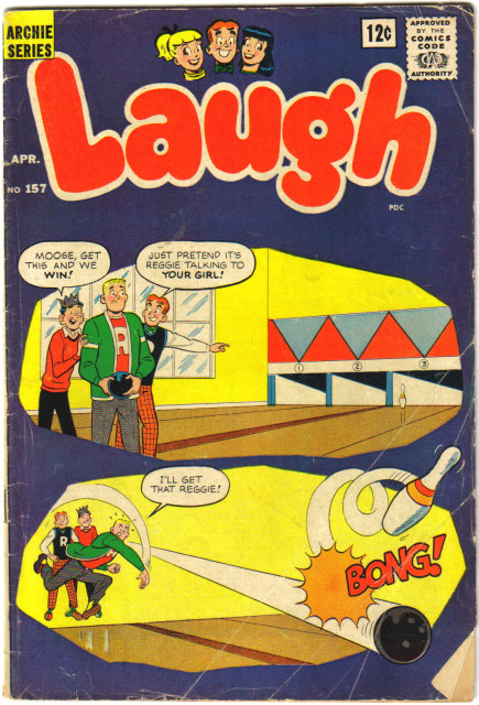 Laugh Comics #157 comic book very good 4.0