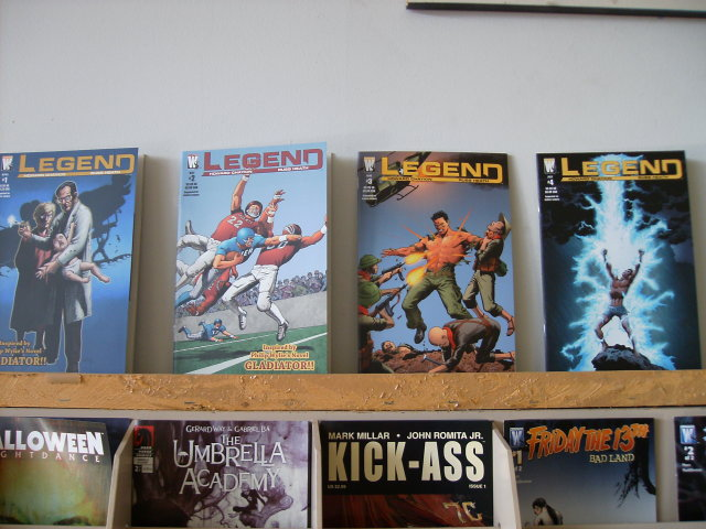 Legend set of 4 comic books mint by Howard Chaykin