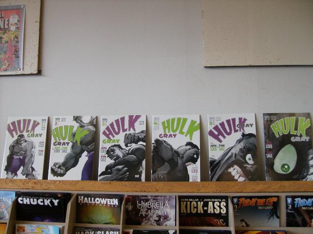 Hulk Gray  set  of 6 comic books mint
