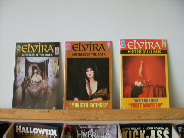 Elvira comic book collection