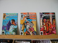 indiana Jones and the Temple of Doom comic book mini series