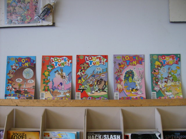 Looney Tunes comic book collection....first five issues