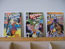 Howard the Duck movie adaptation comic book set of 3