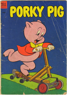Porky Pig #30 comic book good/very good 3.0