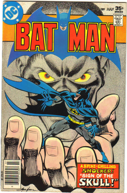 Batman #289 comic book very fine 8.0