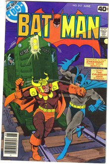 Batman #312 comic book very fine/near mint 9.0