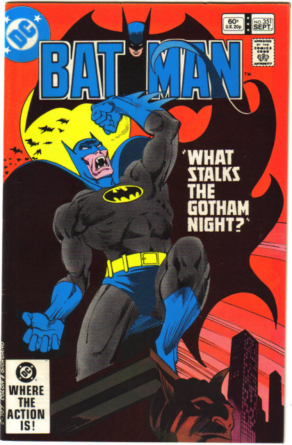 Batman #351 comic book near mint 9.4