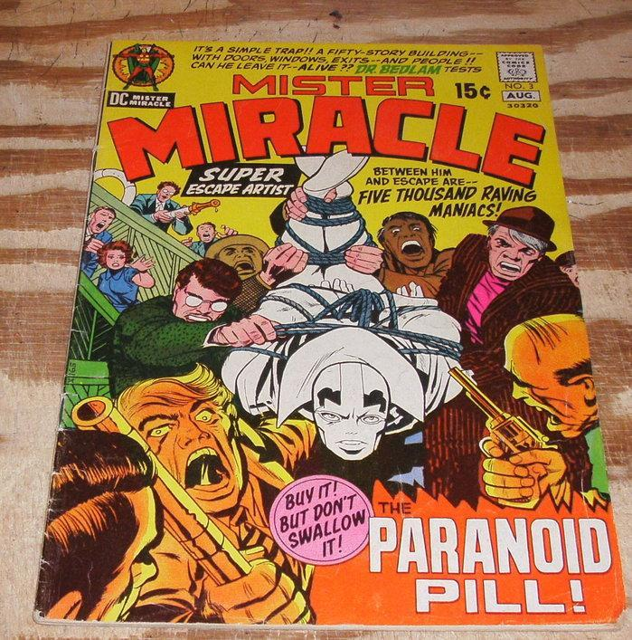 Mister Miracle #3 fine/very fine 7.0