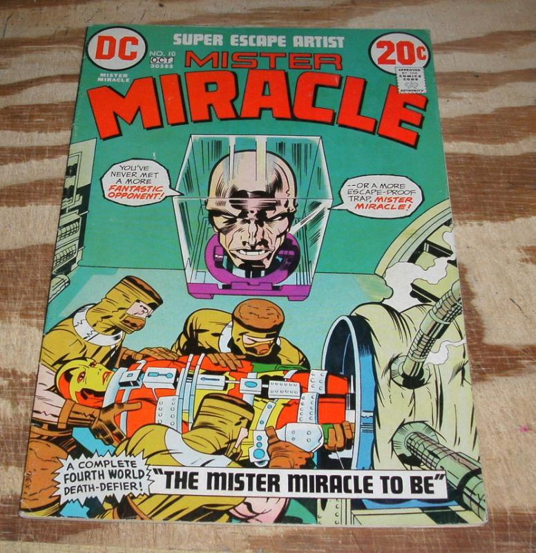 Mister Miracle #10 comic book fine/very fine 7.0