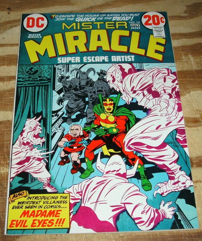 Mister Miracle #14 comic book near mint plus 9.5