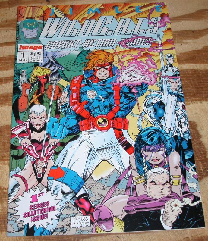 Wildcats #1 comic book near mint 9.4