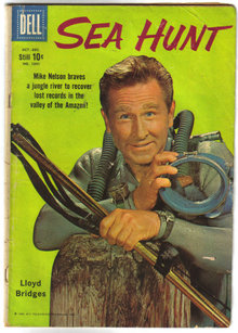 Sea Hunt #1041  comic book very good 4.0