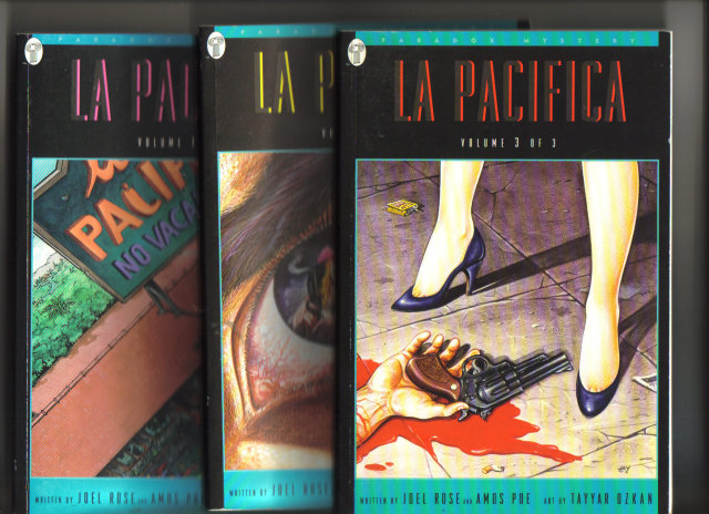 La Pacifica set of 3 graphic novels mint