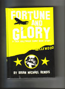 Fortune and Glory autographed hardback graphic novel by Brian Michael Bendis