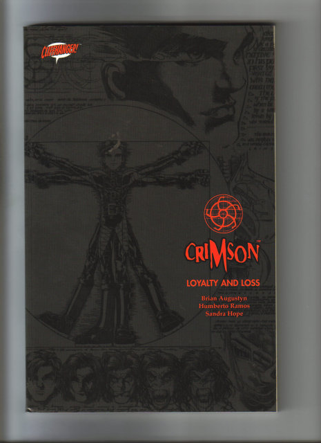 Crimson Loyaly and Loss graphic novel near mint 9.4