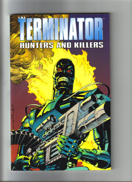 Terminator Hunters and Killers graphic novel near mint 9.4
