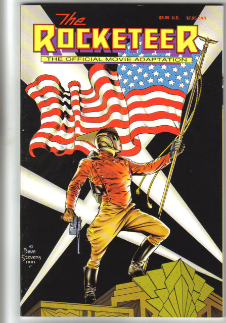 The Rocketeer official movie adaptation graphic novel near mint 9.4