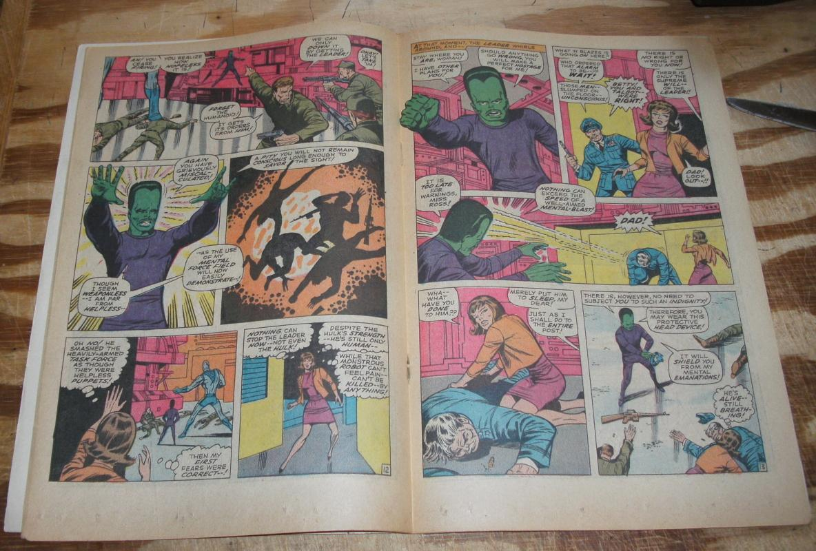 Incredible Hulk #116 very good/fine 5.0