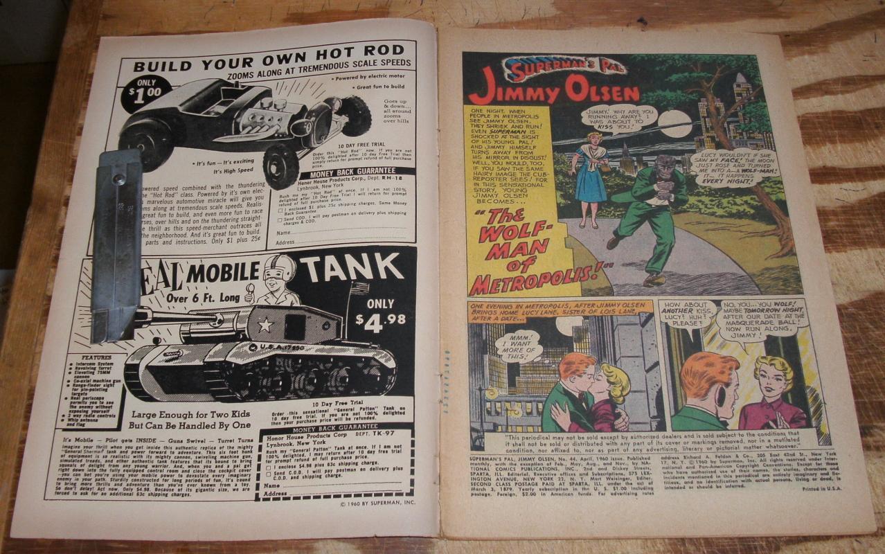 Superman's Pal Jimmy Olsen #44 very good 4.0