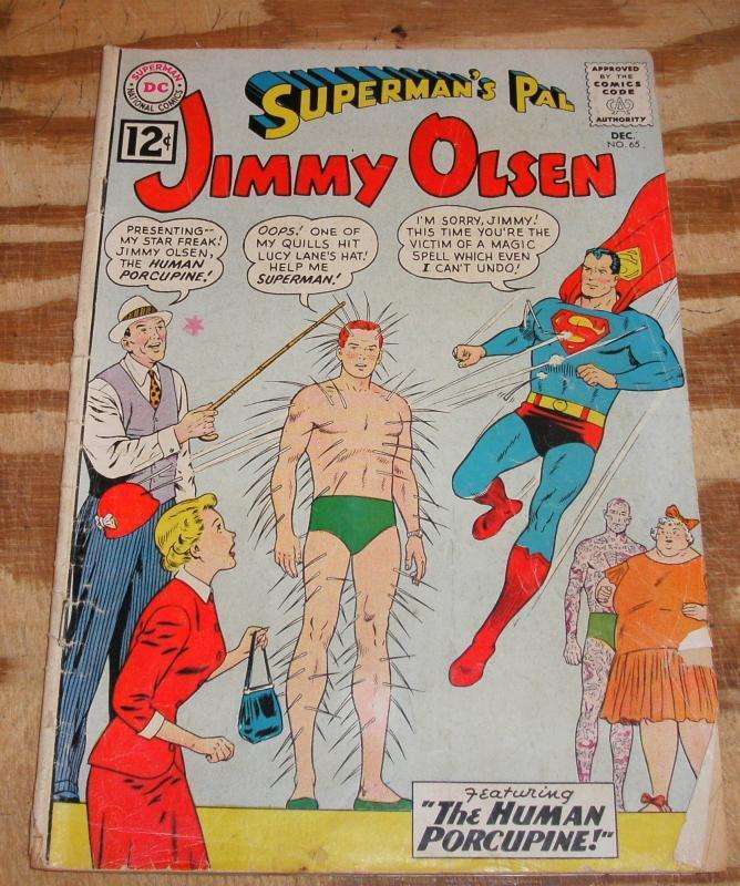 Superman's Pal Jimmy Olsen #65 very good 4.0