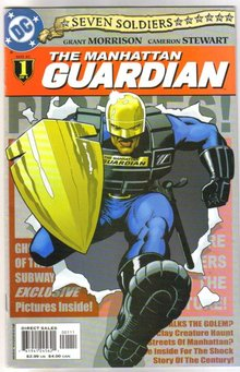 Seven Soldiers The Manhattan Guardian set of 4 comic books