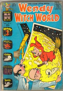 Wendy Witch World #12 comic book good/very good 3.0