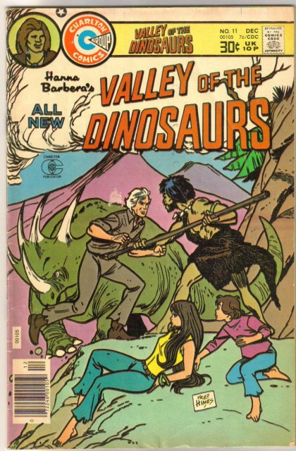 Hanna Barbera's Valley of the Dinosaurs #11 comic book very good/fine 5.0