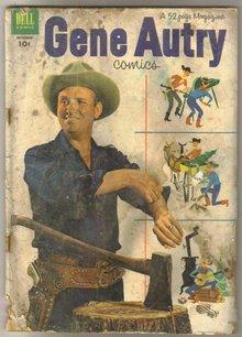 Gene Autry Comics #70 comic book poor 1.0