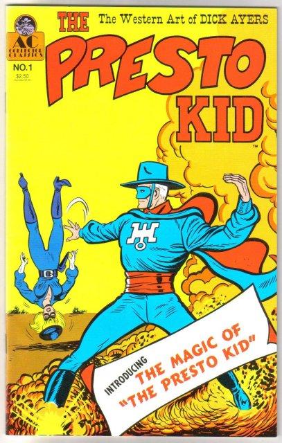 The Presto Kid #1 with Durango Kid comic book near mint/mint 9.8