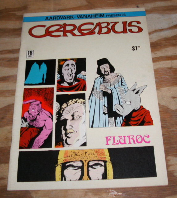 Cerebus #18  comic book near mint 9.4