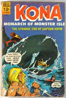 Kona Monarch of Monster Island #18 comic book very good 4.0