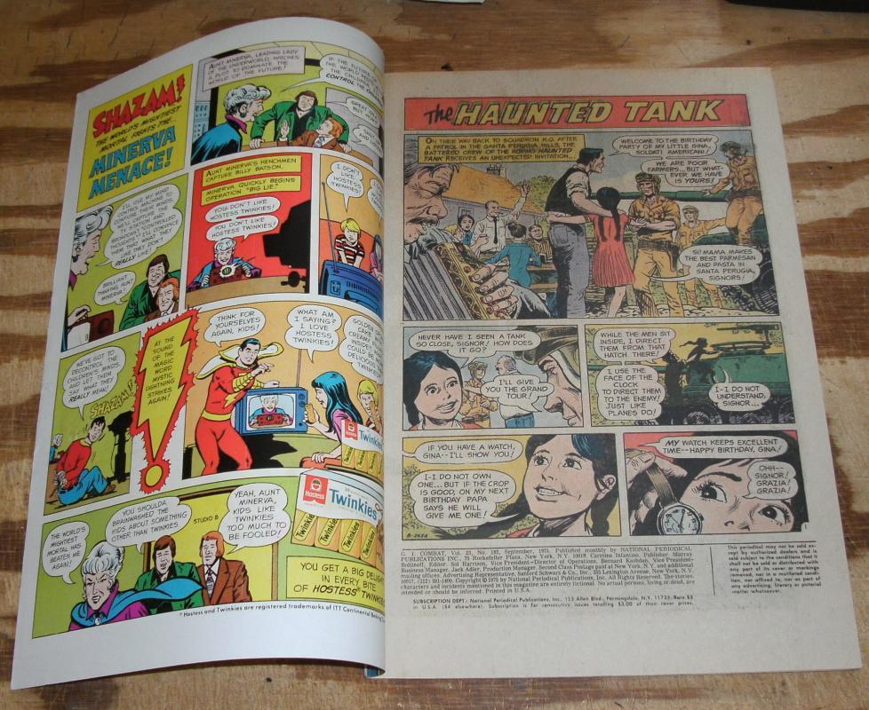 G.I. Combat #182 comic book fine/very fine 7.0