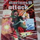 Marines Attack #7 comic book vf + 8.5