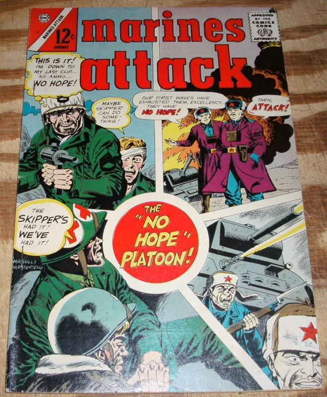 Marines Attack #6 comic book very fine 8.0