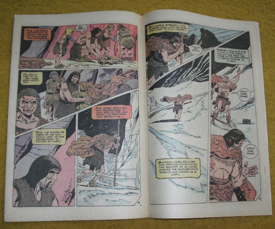 Korg: 70,000 B.C. comic book near mint 9.4
