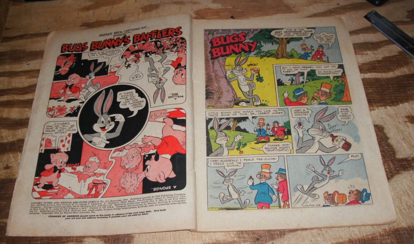 Looney Tunes #107 vg 4.0