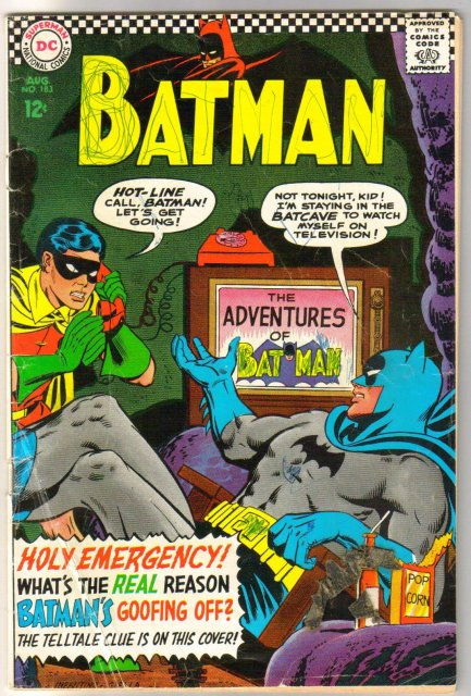 Batman #183 comic book fair 1.5