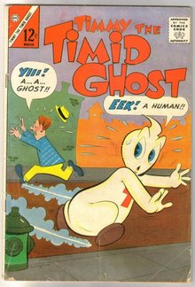 Timmy the Timid Ghost #37 comic book very good 4.0