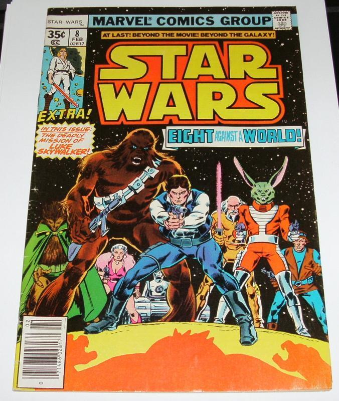 Star Wars #8 very fine/near mint 9.0