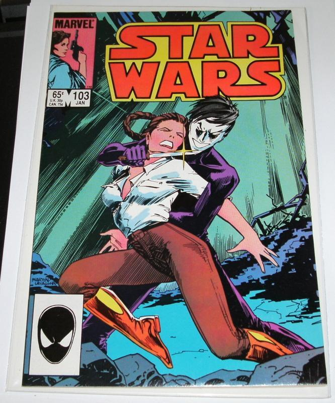 Star Wars #103  near mint plus 9.6