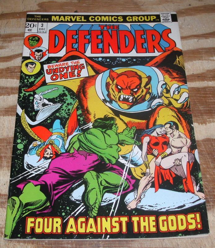 The Defenders #3 very fine/near mint 9.0