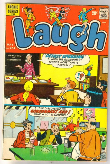 Laugh #254 comic book very good/fine 5.0