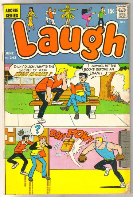 Laugh Comics #243 comic book very good/fine 5.0